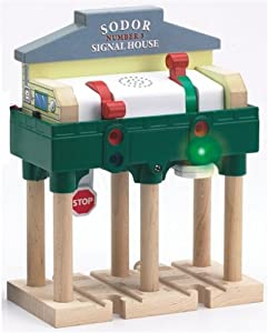 Thomas And Friends Wooden Railway - Deluxe Over - The - Track Signal