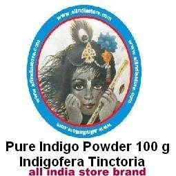 100 Grams Bag of Natural Indigo Powder (wasma in Arabic and Urdu) Indigofera Tinctoria New Crop