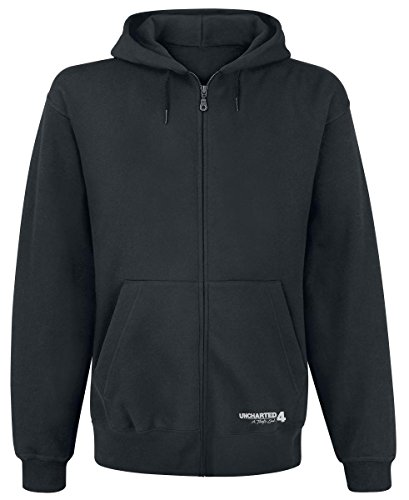 Felpa Uncharted 4 Hooded Sweater Pro Deus Qvod Licentia Size XXL Bioworld