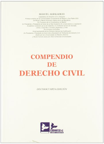 COMPENDIO DE DERECHO CIVIL