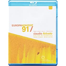 Mozart: Europakonzert 1991 from Prague [Blu-ray]