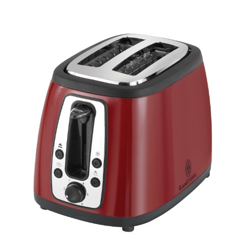 Russell Hobbs TR9260RM 2 Slice Toaster, Red (Russell Hobbs Toaster Red compare prices)