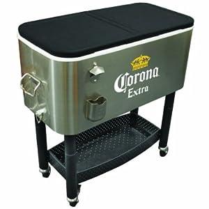 Corona Extra Portable Rolling Cooler Cart 100 Quart