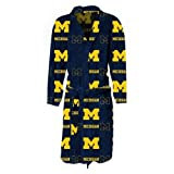 Michigan Wolverines Men's Lightweight Fleece Robe at Amazon.com