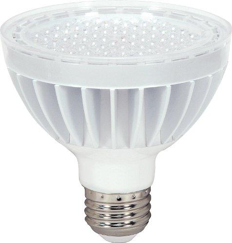 Satco S8942 14 Watt (75 Watt) 890 Lumens Par30 Short Neck Led Neutral White 3500K 60 Beam Kolourone Light Bulb, Dimmable