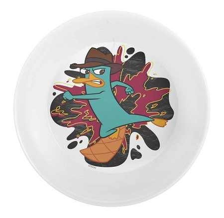 Disney Phineas and Ferb 5.5 Inch Mealtime Bowl - 1