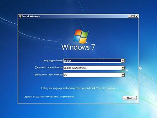 Windows 7 32 and 64 bit USB