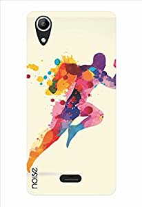 Noise Go Run Printed Cover for Micromax Canvas Selfie Lens Q345