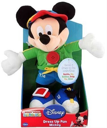 Mickey Mouse - Dress Up Fun Doll