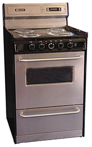 Brown Electric Range front-476829