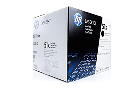 Cartouche de Toner De Marque HP Q7551XD Q7551XD51X 51X , 51XD - 1x noir - 2 x 13.000 pages