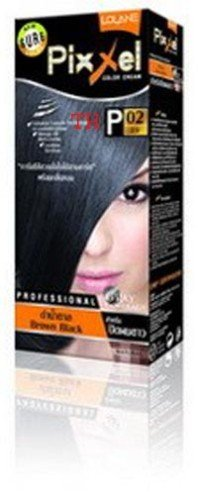 Lolane Pixxel Hair Dye Natural Color Brown Black