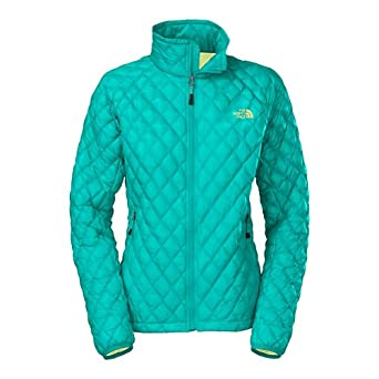 Buy The North Face Ladies ThermoBallTM Full Zip Jacket Borealis Blue L by The North Face