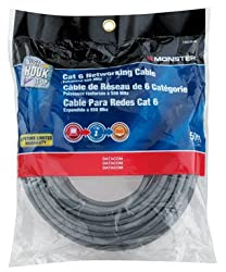 Monster Cat 6 Networking Cable 50 Ft.
