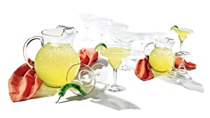 Libbey Cancun Margarita 7-Piece Glassware Set by Libbey
