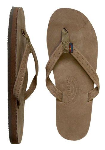 Rainbow Sandals Single Arch Narrow Ladies Sierra Brn Sm