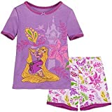 Disney-Pixar Tangled - Rapunzel Girl's (size: 2-8) 2 Piece Pajama Set