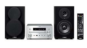 Yamaha MCR-750 SIBL Micro chaîne Blu-ray Technologie Air Surround Extreme Port USB Certifié DLNA 1.5 Argent/Noir