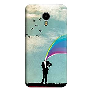 Qbic Designer 3D Printed Hard Mobile Back Case Cover for Meizu M2 Note