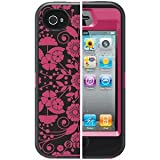 OtterBox Defender Series Case & Holster for iPhone 4 / 4S - Studio Collection - Perennial