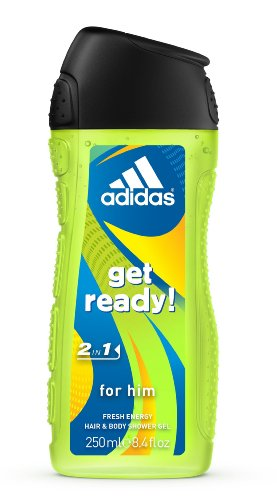 adidas 2in1 doccia Get Ready, 250 ml, 6-pack (6 x 250 ml)
