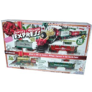 Toystate Santa's Village Express Holiday Christmas Train Set at Sears.com