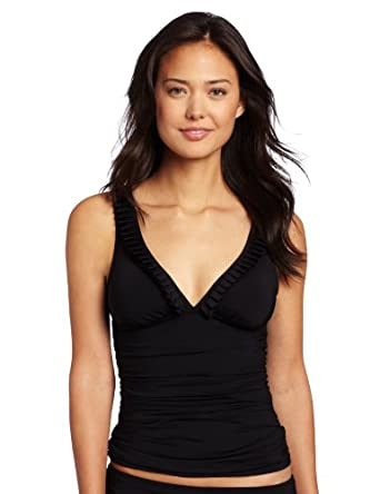 Kenneth Cole Reaction Women's On The Bright Side Tank, Black, Small