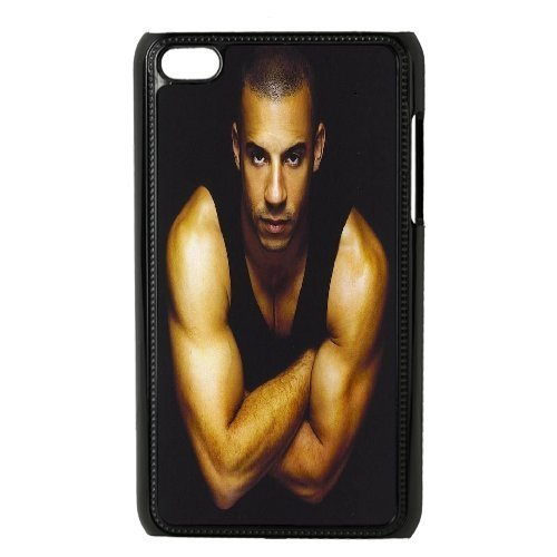 Vin Diesel a Perfect Body Ipod Touch 4 Cases, Tyquin - Black by tyquin Storefront [並行輸入品]