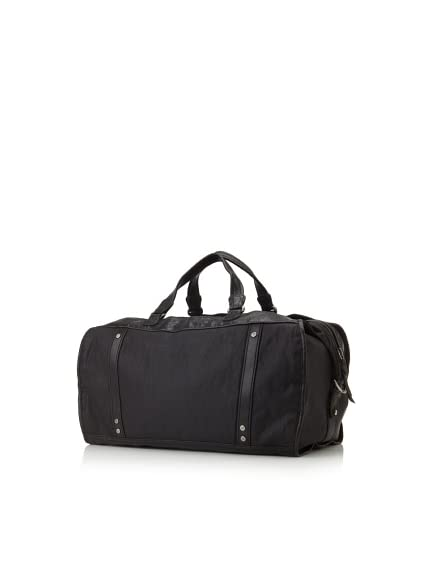 Andrew Marc Men's Bedford Mixed Material Duffel Bag