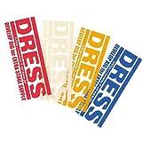 ドレス(DRESS) ロゴステッカー LD-OP-0002 レッド S
