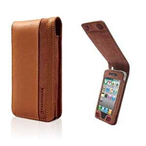 Marware C.E.O. Flip-Vue Case for iPhone 4 (Brown)