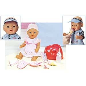 Baby Born Magic Feeding Doll