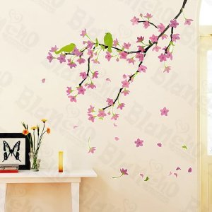 Plum Blossoms - Large Wall Decals Stickers Appliques Home Decor