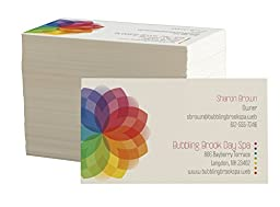 Design Your Own Business Cards from Vistaprint, Front Only