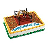 Wrestlers and Wrestling Ring Cake Kit