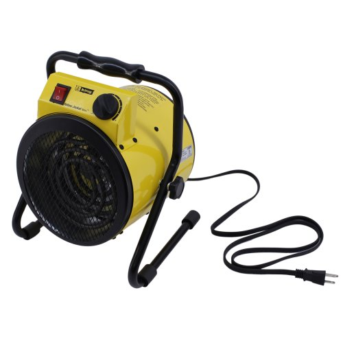 King Electric PSH1215T Portable Shop Heater with Thermostat, Yellow (Construction Electric Heaters compare prices)