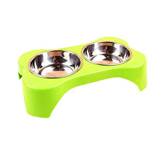 creationr-stainless-steel-elevated-dog-and-cat-pet-feederdouble-bowl-raised-stand-feeding-tray-for-s