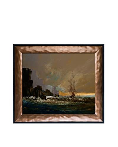 Justyna Kopania Dawn Framed Canvas Print