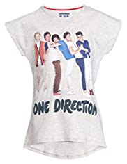 One Direction Elliptical Hem T-Shirt
