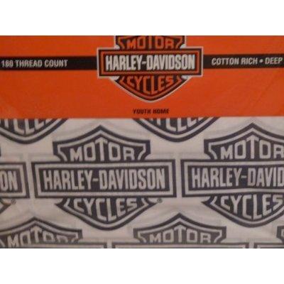 Harley Davidson Motorcycle Sheet Set - FULL