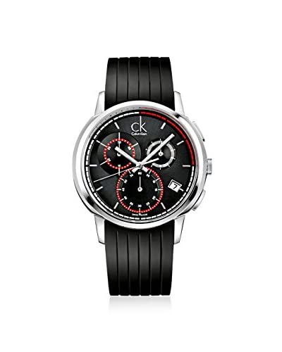 Calvin Klein Men's K1V27704 Drive Analog Display Swiss Quartz Black Watch