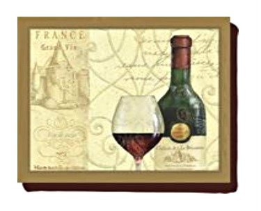 Creative Tops Wine Passion Bottles Bean Bag Lap Tray 5123090