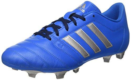 Adidas Gloro 16.2 Fg, Scarpe da Calcio Unisex - Adulto, Blu (Shock Blue/Silver Metallic/Collegiate Navy), 46 EU
