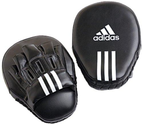 Adidas Focus Mitts Leather - Black - 10