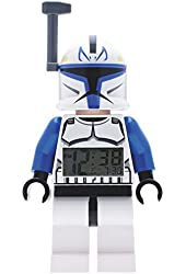 LEGO Kids' 9003936 Captain Rex Mini Figure Clock