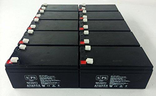 Replacement Battery For Parks Medical 1050 Doppler (Original) - Sps Brand ( 10 Pack )