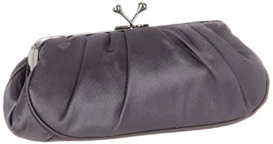 Jessica McClintock 661690 Clutch,Pewter,one size