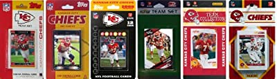 NFL Kansas City Chiefs Six Different Licensed Trading Card Team Sets