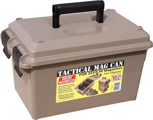 Lowest Price! MTM Tactical Mag Can for 223/5.56 Magazine Storage TMC15