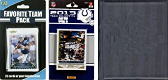 NFL Indianapolis Colts Licensed 2013 Score Team Set and Favorite Player Trading Card... by C&I Collectables